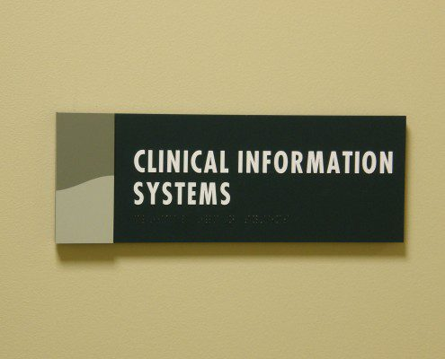 RMH Indoor Office Directional Sign