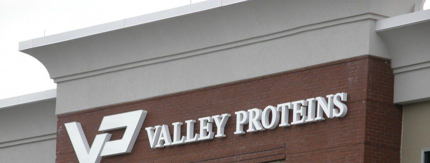 Valley Proteins Outdoor Sign