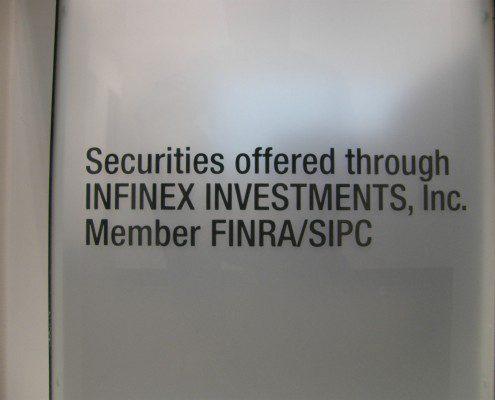 Infinex Indoor Office Sign