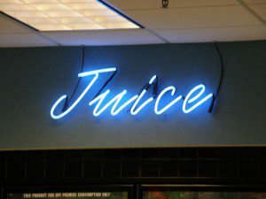 Juice Custom Neon Sign