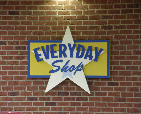Everyday Shop Custom Outdoor Sign