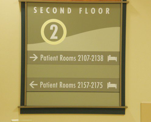 RMH Directional Sign
