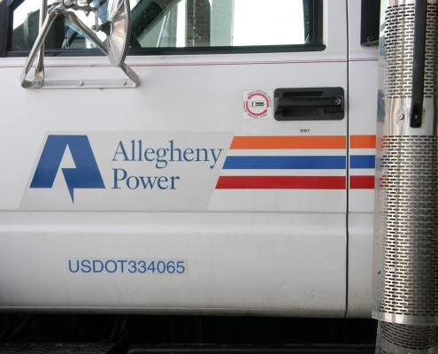 Allegheny Power Vehicle Wrap