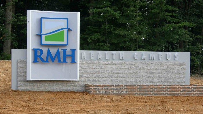 RMH Health Campus Custom Sign