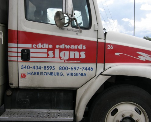 Eddie Edwards Vehicle Graphic