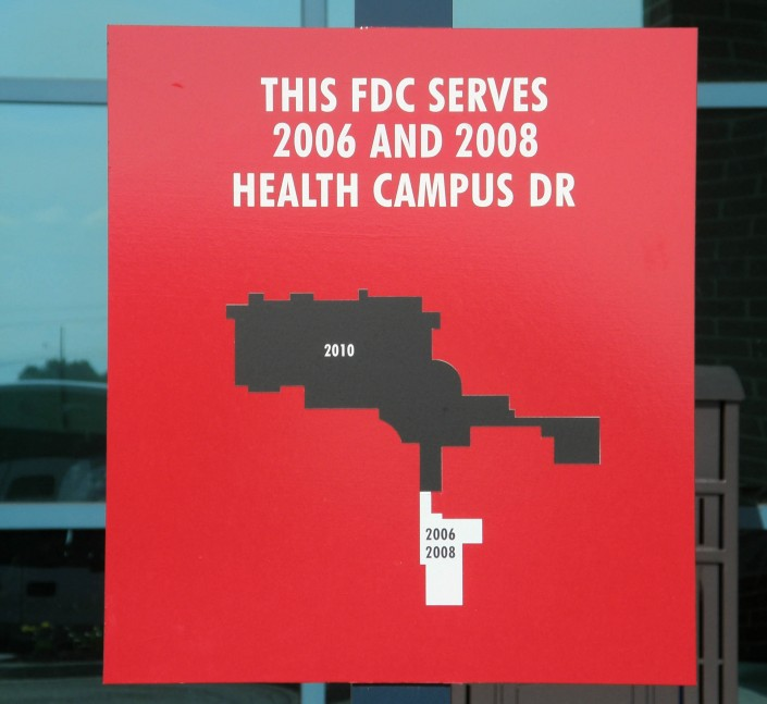 FDC Outdoor Informational Sign