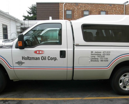 Holtzman Oil Corp. Vehicle Wrap