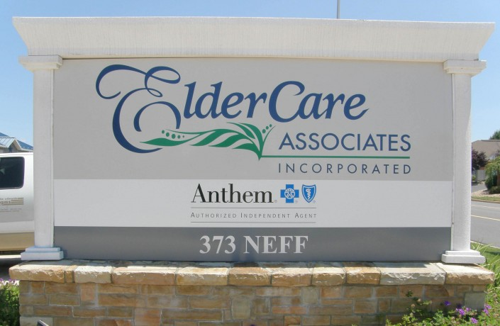 Eldercare Associates Outdoor Signs