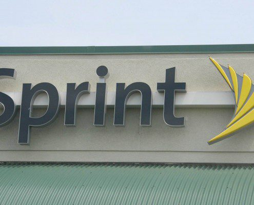 Sprint Outdoor Channel Sign