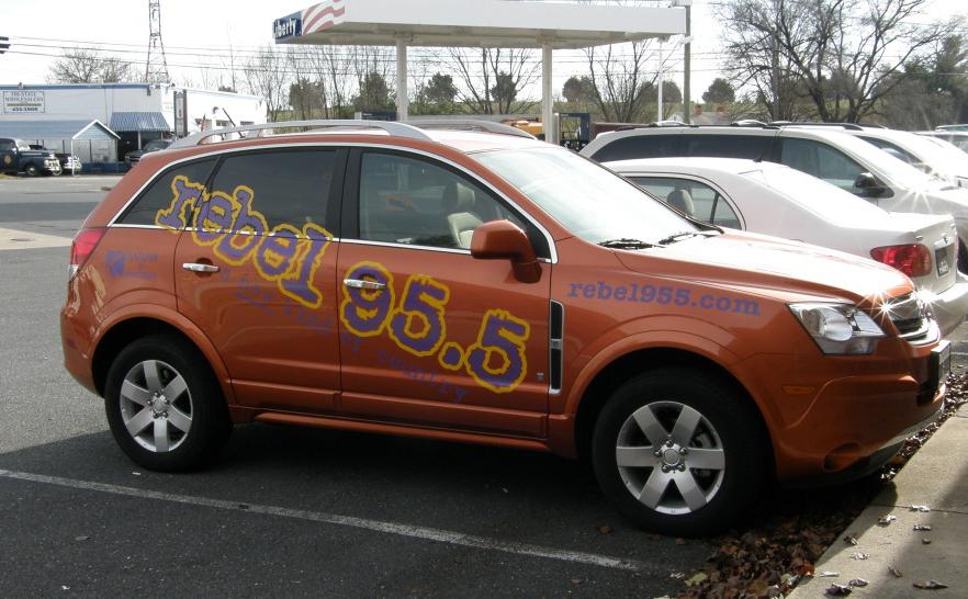 Rebel 95.5 Vehicle Wrap