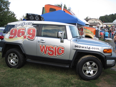 WSIG 96.9 Vehicle Wrap