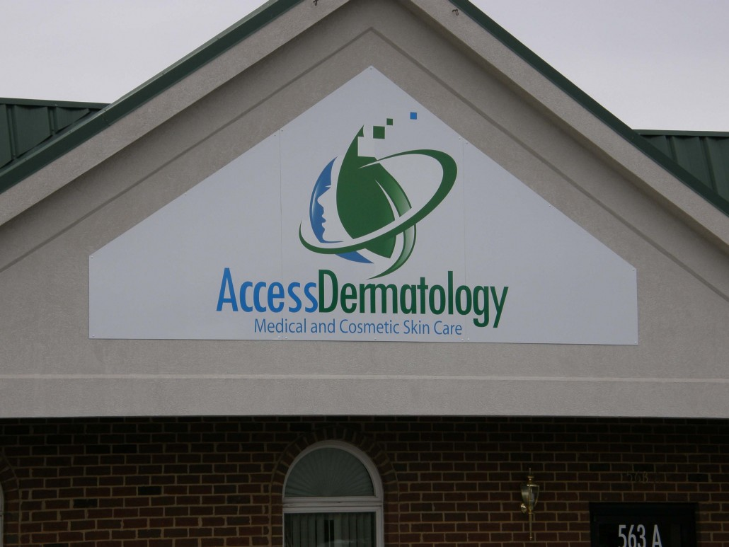 Access Dermatology Outdoor Sign