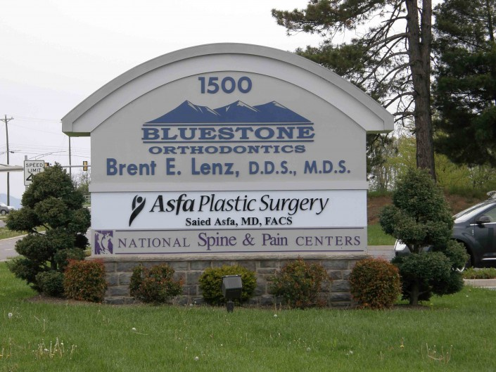 Bluestone Orthodontrics Outdoor Sign