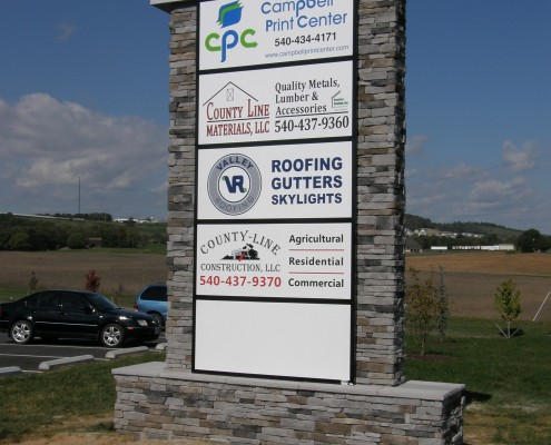 South Valley Properties, Outdoor Sign